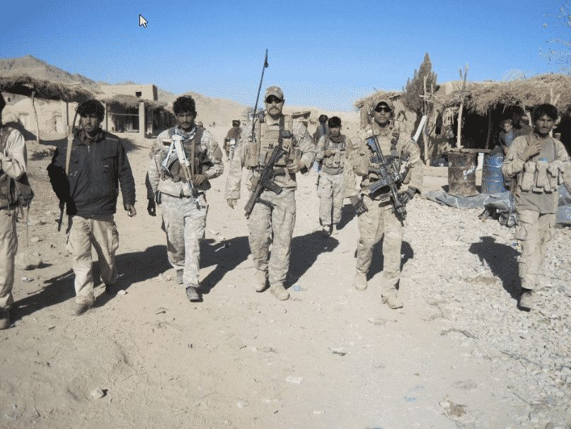 Soldiers in Afghanistan - post traumatic stress disorder
