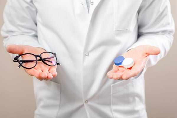 Corrective Vision Glasses Contacts Eye Health