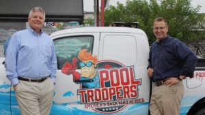 Dave and Gary of Pool Troopers