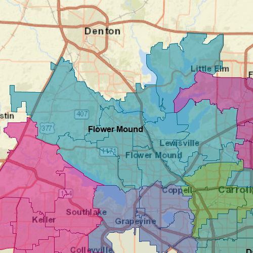 Pool Troopers Flower Mound Map
