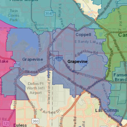 Pool Troopers Grapevine Map