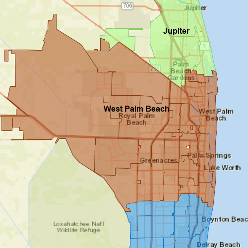 Pool Troopers West Palm Beach Map