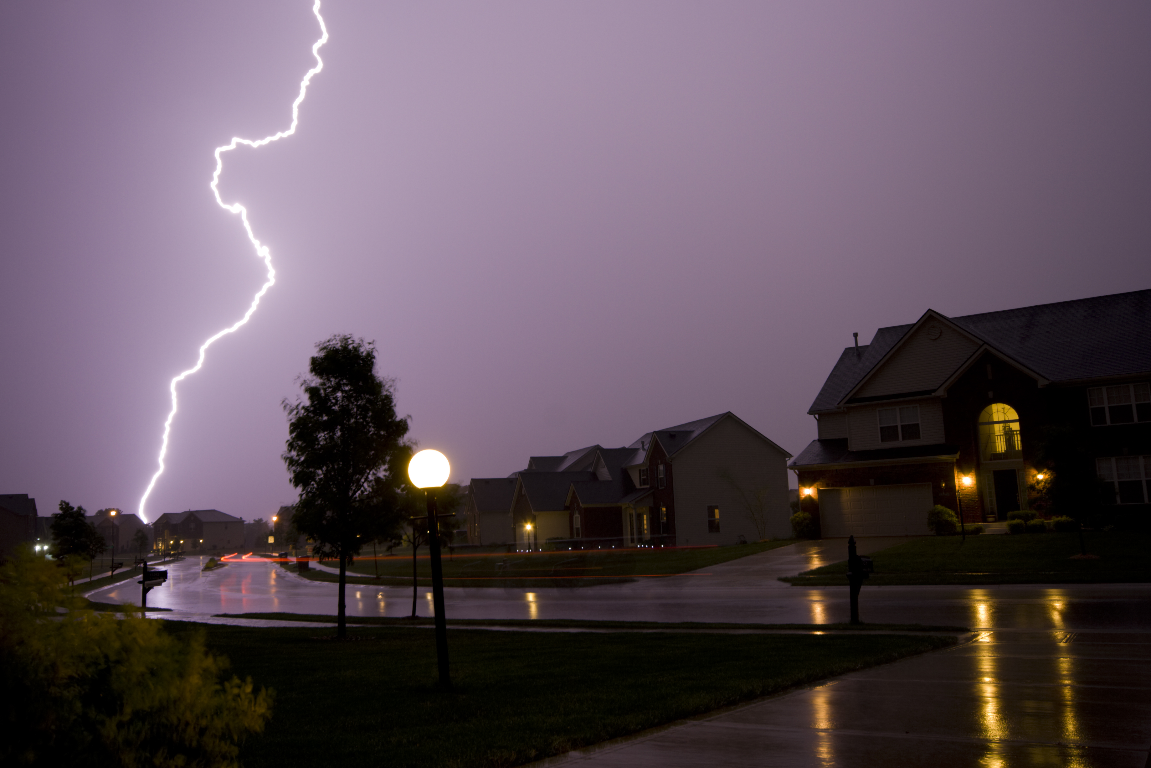 Swimming Pools and Lightning
