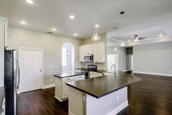 Open Kitchen Concept by Covenant Homes