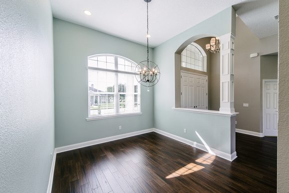 Dining Room & Entryway Design by Covenant Homes