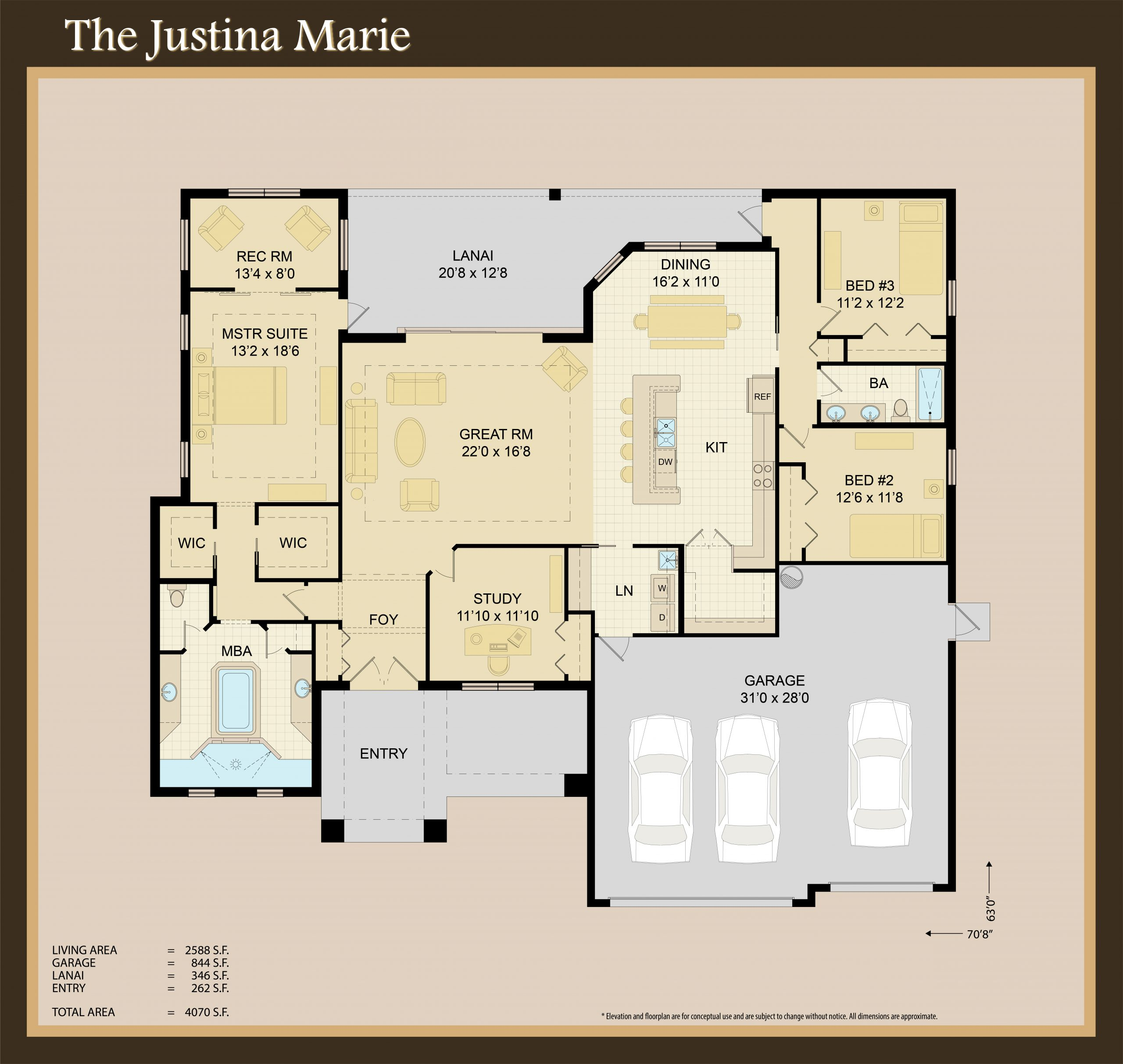 The Justina Marie Model